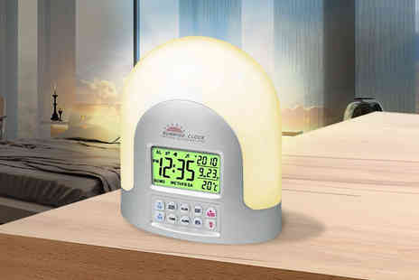 Zoozio - Led Sunrise Alarm Clock - Save 78%