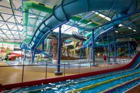 Water World - Non Half Term or Half Term Full Day Entry for Adult or Family of Four - Save 26%