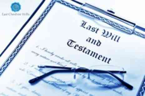 East Cheshire Wills - Professional will writing service - Save 90%