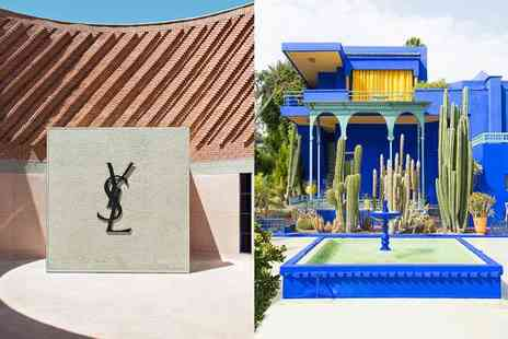 Riad Luxe & Yves Saint Laurent Museum - A Walk in the Footsteps of Yves Saint Laurent For Two - Save 51%