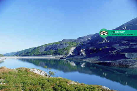 Padarn Hotel - Two night stay for two people with breakfast, late check out and bottle of wine - Save 42%