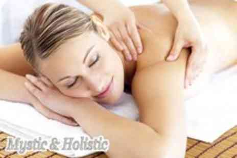 Mystic Holistic - 1 Hour chocolate back, neck and shoulder massage - Save 70%