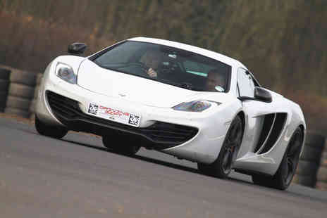 Driving Experiences 4 U - One, two, three or four car supercar driving experience - Save 69%