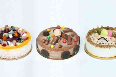 Unico Delicacies - Custom Gelato Cake for Four or Eight People from Unico Delicacies - Save 38%