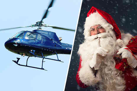 Helicentre - Private helicopter flight with Santa for up to three - Save 36%