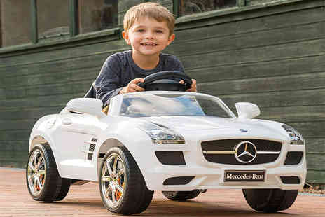 Trojan Electrical - Mercedes SLS electric ride on car - Save 55%