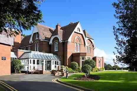 Hallmark Stourport Manor - Standard Room for 2 or Family Room for 4 with Meals and Optional Foot Golf - Save 43%