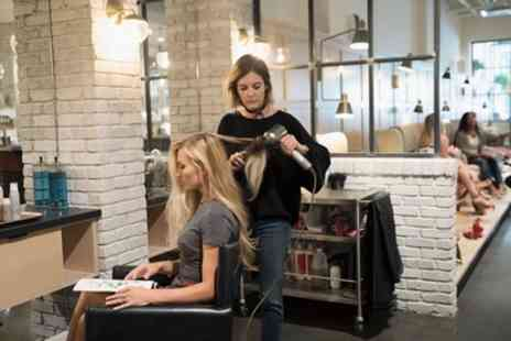 LH Hair Design - Cut, Blow Dry and Condition with Optional Half Head Highlights or Full Head Colour - Save 56%