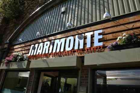 Marimonte Restaurant - Two Course Meal with Drink for Two or Four - Save 48%