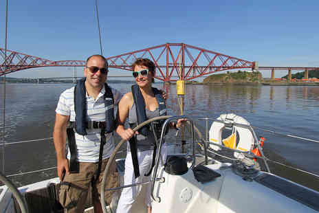 Virgin Experience Days - Firth of Forth Luxury Sailing Half Day for Two - Save 0%