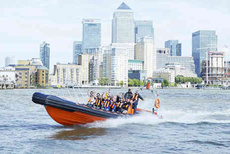 Virgin Experience Days - Ride the Tiger London Family Speedboat Experience - Save 0%