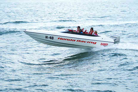 Virgin Experience Days - Offshore Honda 150 Powerboat Driving Experience - Save 36%