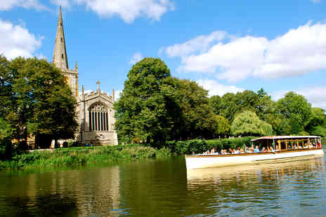 Virgin Experience Days - Afternoon Tea and River Sightseeing Cruise for Two in Historic Stratford Upon Avon - Save 0%