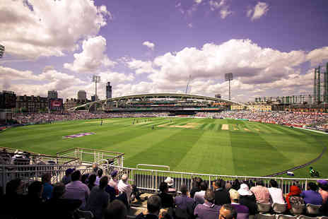The Kia Oval Cricket Ground Tour - Match Day Ticket and Afternoon Tea for Two - Save 0%