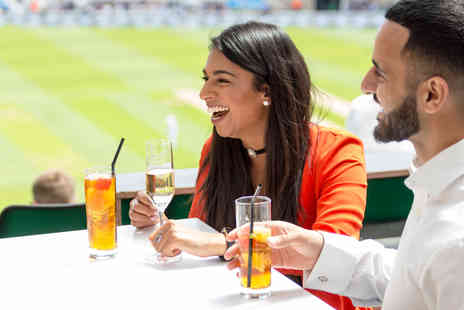 The Kia Oval Cricket Ground Tour - Match Day Ticket and Sparkling Afternoon Tea for Two - Save 0%