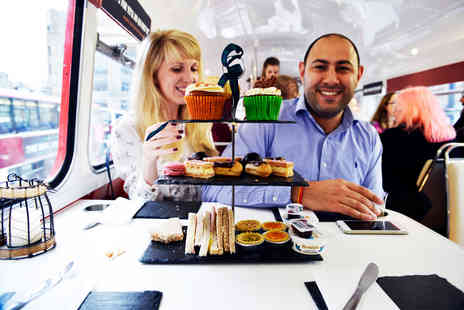 Vintage Bus Tour - Gin Cocktail Afternoon Tea Vintage Bus Tour for Two - Save 0%