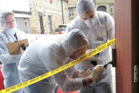 Virgin Experience Days - Crime Scene Investigation Experience Day for Two - Save 0%