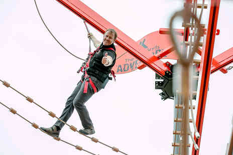 Virgin Experience Days - The Bear Grylls Adventure Basecamp plus High Ropes for Two - Save 0%