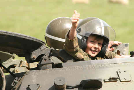 Virgin Experience Days - Adult and Child Tank Driving Experience - Save 0%