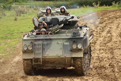Virgin Experience Days - Tank Paintball Battle for Two - Save 0%