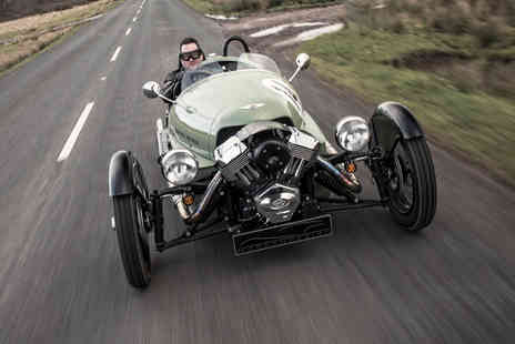 Virgin Experience Days - Half Day Morgan Three Wheeler Driving Experience with Factory Tour - Save 0%