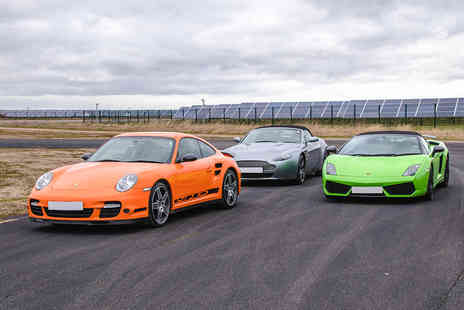 Virgin Experience Days - Triple Supercar Thrill, Weekday - Save 46%