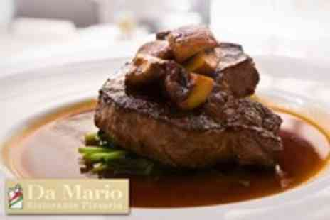 Da Marios Restaurant - Italian Steak Dinner For Two With Chips - Save 59%