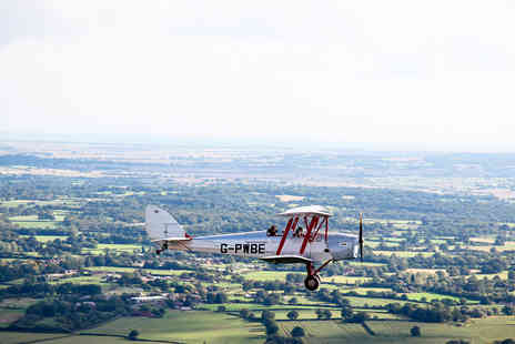 Virgin Experience Days - 30 minute Tiger Moth Trial Lesson - Save 0%