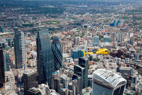 Virgin Experience Days - Central London Sights Helicopter Tour for Two - Save 0%