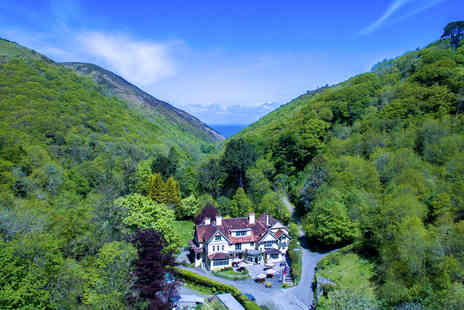 The Hunters Inn - Two Night Exmoor National Park Break for Two - Save 33%