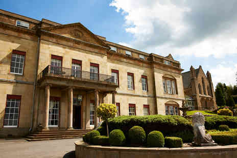 The Shrigley Hall Hotel - Two Night Peak District Break for Two - Save 0%