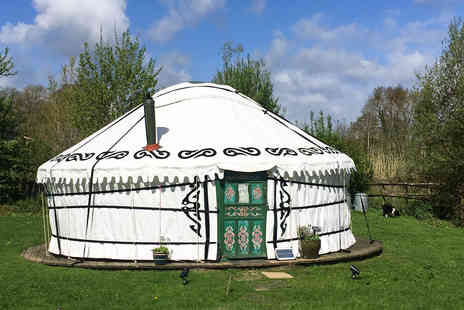 Hemsford Yurt Camp - Two Night Devon Yurt Break for Six - Save 0%