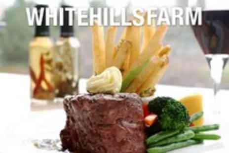 Whitehills Farm - Two Course Scottish Meal For Two With Wine - Save 96%