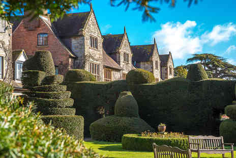 Historic Billesley Manor Hotel - One Night Break for Two - Save 0%