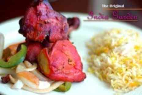 The Original India Garden - Two Courses of Indian Meal For Two - Save 59%