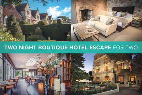 Boutique Hotel - Two Night Boutique Hotel Escape for Two - Save 0%