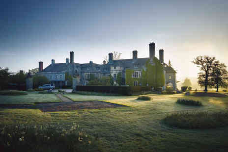 Llangoed Hall - Two Night Wye Valley Break with Dinner for Two - Save 33%