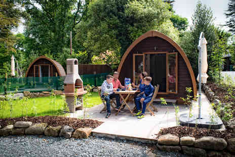 Langstone Manor - One Night Mega Pod Glamping Break for Two - Save 0%
