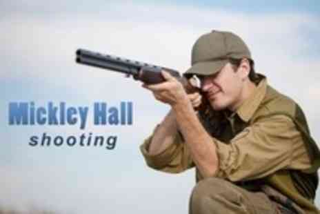 Mickley Hall Shooting School - Two Hours of Clay Pigeon Shooting For One Plus 12 Month Membership - Save 65%