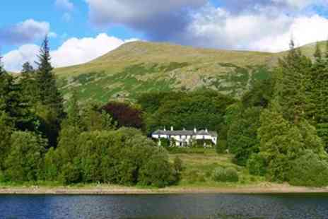 Dale Head Hall Lakeside Hotel - Two night Lake District escape - Save 0%