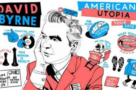 AEG Presents - One ticket to see David Byrne on 21 October To 2 November - Save 55%