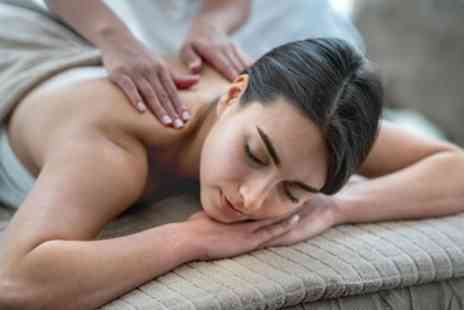 The Nail Bar - Back, Neck and Shoulder Massage or Facial, Both or Full Body Massage - Save 52%