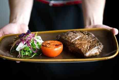 Rendezvous Casino - Fillet Steak with Salad and Bottle of Wine Plus £5 Gaming Chip for Two - Save 61%