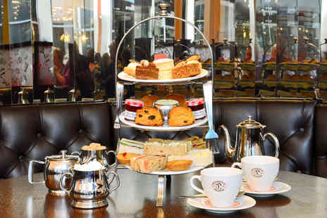 Patisserie Valerie - One Night Bristol Break with Afternoon Tea and Wine Tasting for Two - Save 0%