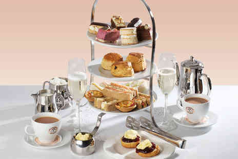 Patisserie Valerie - Prosecco Afternoon Tea for Two - Save 0%