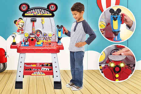 Trojan Electrical - Mickey Mouse Roadster Racers pit crew workbench - Save 59%
