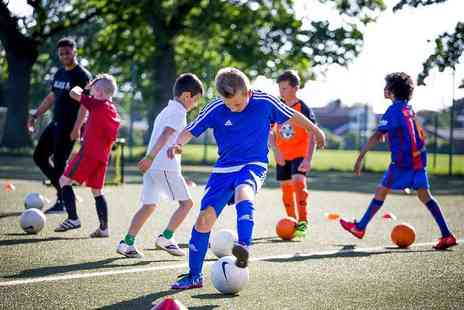 We Make Footballers - One day half term football camp experience for kids aged 8 To 12 - Save 55%