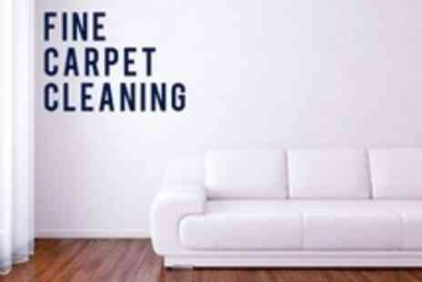 Fine Carpet Care - Deep Steam Clean for Three Piece Suite - Save 61%