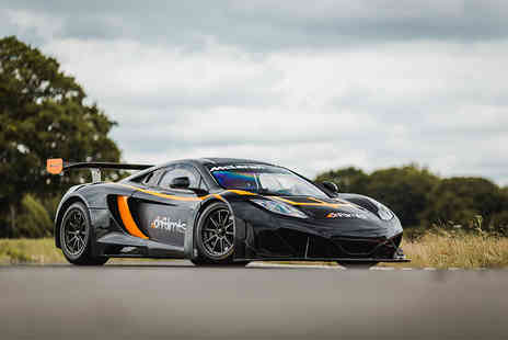 Drift Limits - 14 lap McLaren GT3 driving experience - Save 50%