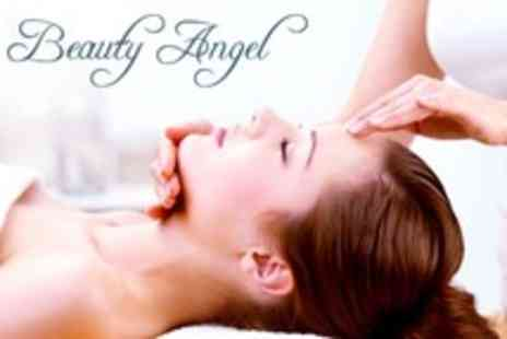 Beauty Angel - Face Massage With Mask and Peeling - Save 60%